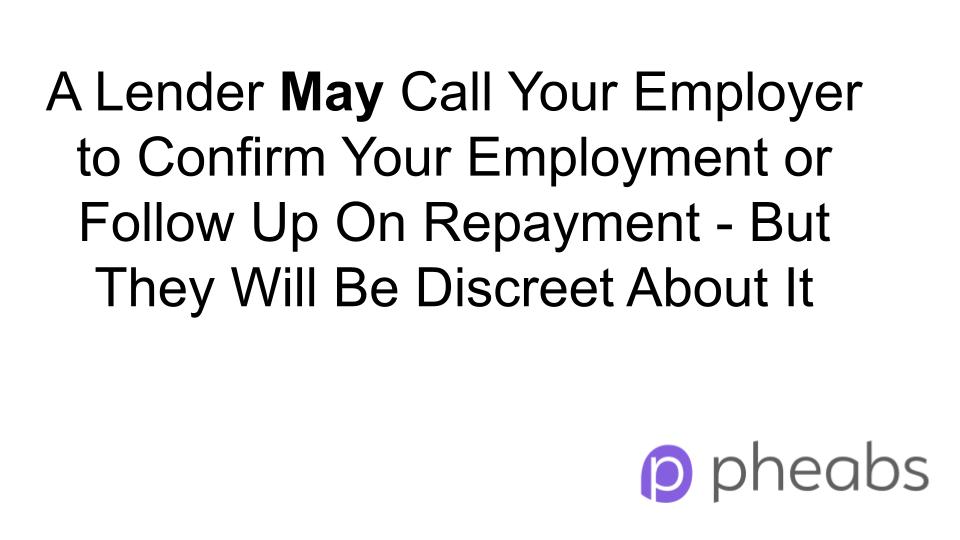 Will a Lender Call My Employer